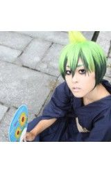 Blue Exorcist Land King Mackie Orchids Cosplay Pruik