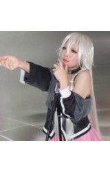 Vocaloid3 Library Ia Zilver Shinny Wit Cosplay Pruik